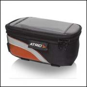 Bolsa Multilaser Porta Celular Para Cano De Bicicleta Preto - Bi022