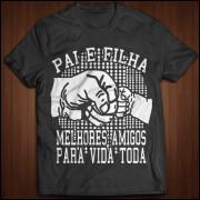 Coleção Camiseta Pai e Filha