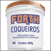 Forth Coqueiro Fertilizante Completo E Balanceado Balde 400gr