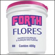 Forth Flores Fertilizante Completo E Balanceado Balde 400g