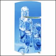 Adesivo para Envelopamento de Geladeira - Água e Gelo 03 - A partir de R$ 72,90
