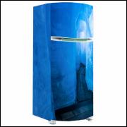 Adesivo para Envelopamento de Geladeira - Água e Gelo 04 - A partir de R$ 72,90