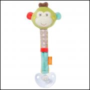 Baby Fehn - Prendedor de Chupeta Macaco - BR301