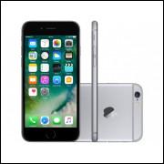 iPhone 6 Apple 64GB Cinza Espacial 4G Tela 4,7- - Retina Câmera 8MP iOS 10 Proc. M8