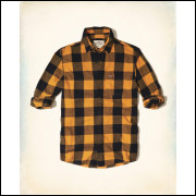 Camisa Hollister Modelada Da Flanela  X - Original Usa