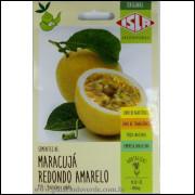 Sementes De Maracuja Redondo Amarelo Isla Original