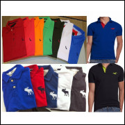 bdf828dc56 Kit 10 Camisa Camiseta Polo Varias Marcas Revenda Atacado