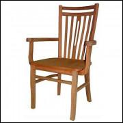 Cadeira Pequim com assento e braço