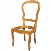 Cadeira Vitoriana  Entalhada