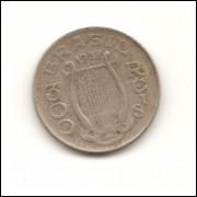Moeda Brasil 300 réis 1938 Carlos Gomes.- 189 -