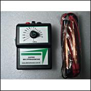 Zapper Multifrequências com bateria e indicador de bateria fraca