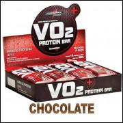 WHEY BAR VO2 12 UNID CHOCOLATE - INTEGRALMEDICA