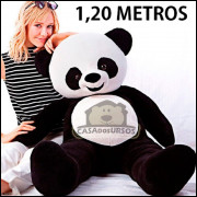 Urso Panda Gigante de 120cm - O presente ideal