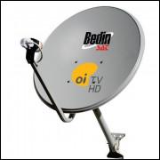 Seis Antenas Parabólica 60cm Banda Ku Oi Tv Frete Gratis