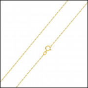 Corrente de ouro 18k 60cm Elos Cartier