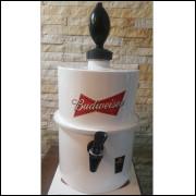 Chopeira Portátil 3,5 litros Budweiser Branco