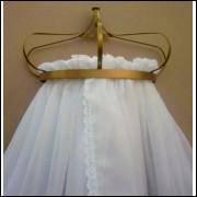 dossel de parede coroa+cortinado voil