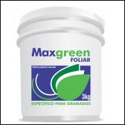 Fertilizante Foliar Para Gramados Maxgreen Balde Com 3kg