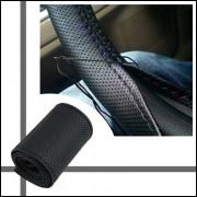 Capa para volante em couro sintético MOD. Furadinha
