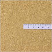 Areia finíssima ocre