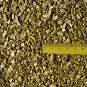 Areia metálica ouro