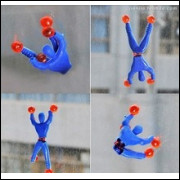Homem Aranha, Escalada Na Parede, 03 Unidades Frete Gratis!