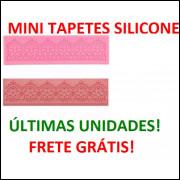 Tapete De Silicone P Rendas De Açúcar 17x05x01 Frete Gratis