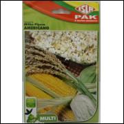 Sementes de Milho Pipoca Americano Isla - Aproximadamente 40 Sementes