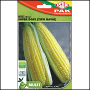 Sementes de Milho-Doce Super Doce (Tipo Havaí)