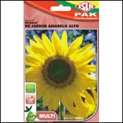 Sementes Flor Girassol De Jardim Amarelo Alto