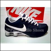 Nike Shox Deliver Azul Branco (1ª Linha Com Garantia)