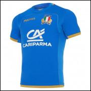 Camisa Itália Rugby I 17/18 Macron