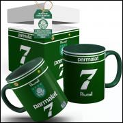6242e5d321 Caneca Palmeiras Camisa Libertadores 1999 com Seu Nome + Caixinha  Personalizada