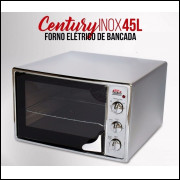 Forno Elétrico em Inox Safanelli 45 Litros