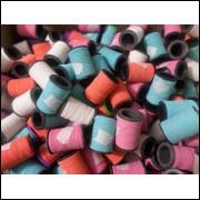 240 tubos de linhas de pipa + um tubo de 12 mil jardas