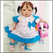 Bebê Reborn Menina Promoção - Envio Rápido - molde TATA