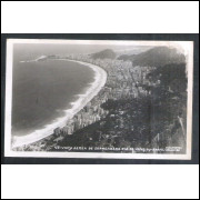 RJ141 - Foto Postal Colombo, Praia de Copacabana, Rio de Janeiro.