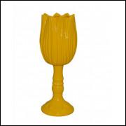 Vaso tulipa G amarelo