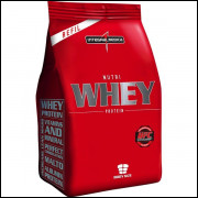 Nutri Whey Protein 907g - Refil - Integralmédica - Baunilha