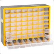 Caixa Organizador Plástico Com 64 Gavetas Opv 310 Vonder - 1