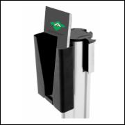 Porta Panfletos Para Pedestal Retrátil